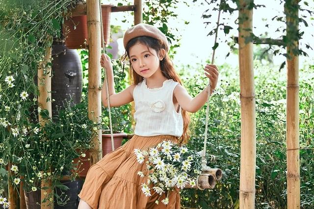"""""""Nàng công chúa tóc mây"""" 6 tuổi phiên bản Việt - 8"""