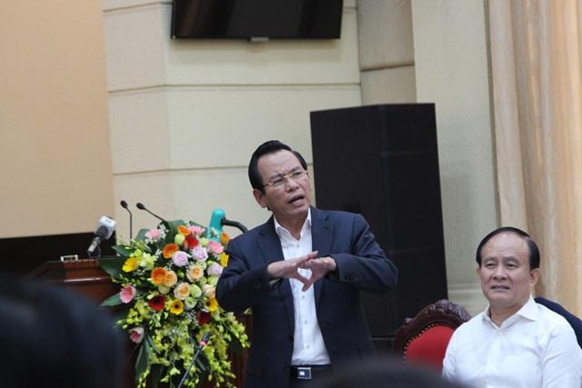Ông Vũ Hồng Khanh – Chủ tịch Ủy ban MTTQ TP Hà Nội cho rằng nên vận động thủ lĩnh của dân vào Đảng nếu đủ điều kiện.