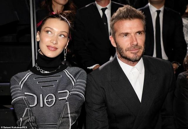 Bella Hadid và David Beckham là tâm điểm thu hút sự chú ý trong sự kiện