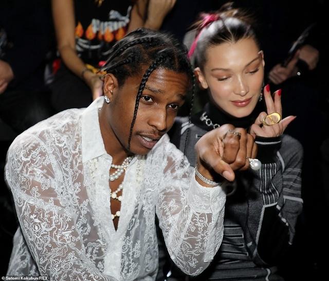 Tới xem show diễn này còn có Rapper A$AP Rocky