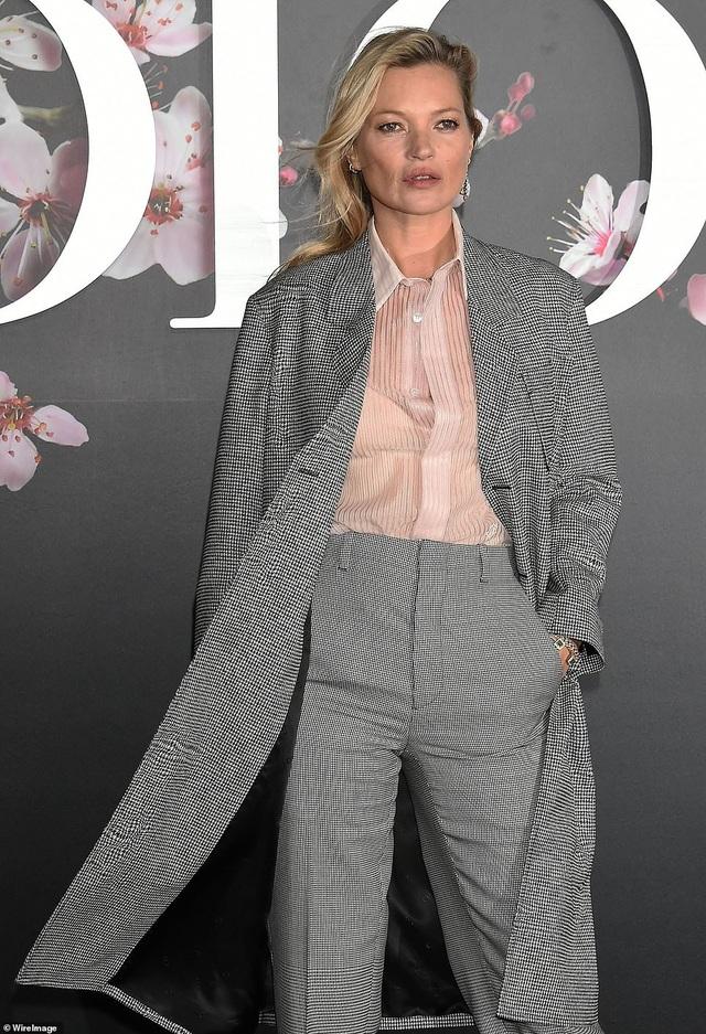Siêu mẫu kỳ cựu Kate Moss