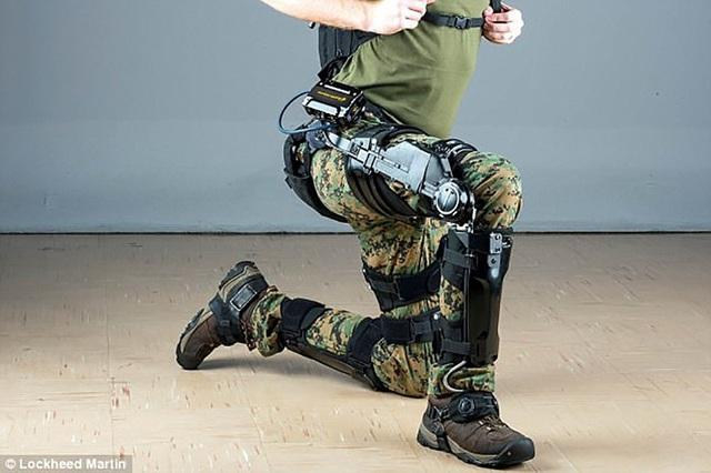 Bộ khung xương trợ lực đặc biệt sẽ giúp binh sĩ Mỹ giảm thiểu mệt mỏi hơn rất nhiều.