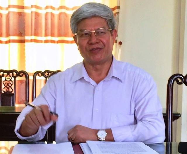 Ông Đặng Xuân Hữu, Trưởng Phòng GD&ĐT huyện Trực Ninh