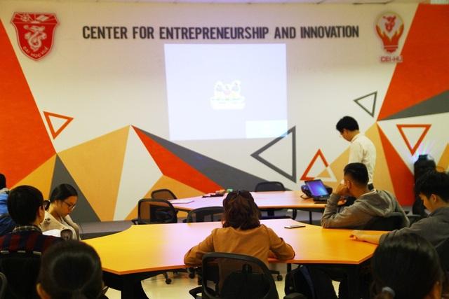 Trung tâm Khởi nghiệp và Đổi mới sáng tạo ĐH Huế với cơ sở vật chất tốt giúp cho các sinh viên học tập tốt hơn