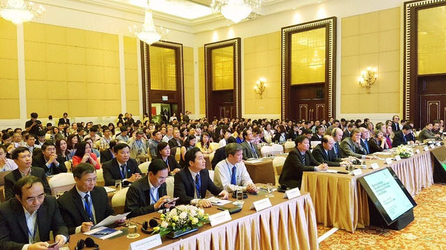 Nhiều đại biểu nước ngoài có tiếng tham dự