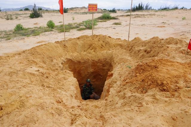 Khu vực phát hiện bom