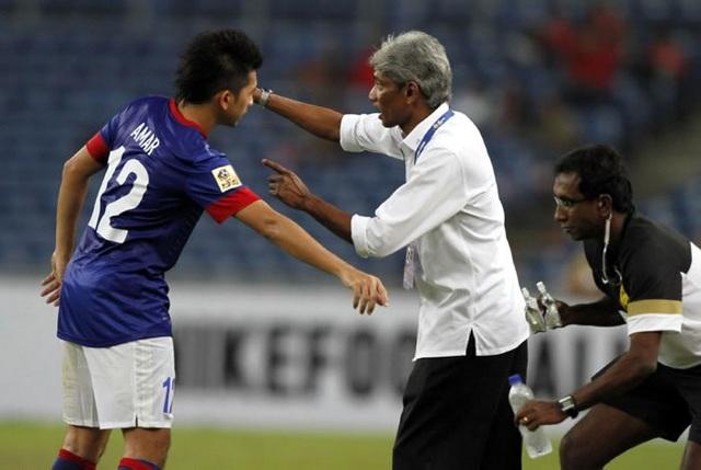 HLV Rajagopal từng giúp bóng đá Malaysia thành công rực rỡ