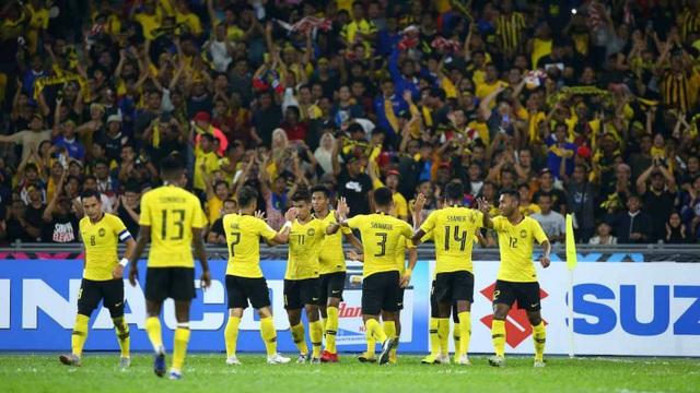 Sức nóng ở trận đấu giữa Malaysia và Thái Lan được đẩy lên tới đỉnh điểm