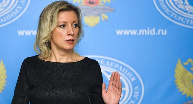 Người phát ngôn Bộ Ngoại giao Nga Maria Zhakharova (Ảnh: Sputnik)