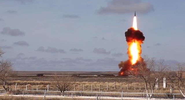 Tên lửa được phóng thử tại Sary Shagan. (Ảnh: Sputnik)