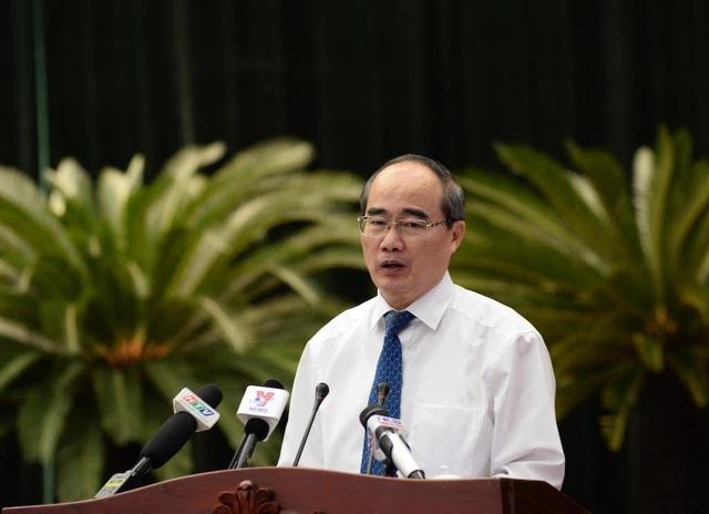 Bí thư Thành ủy TPHCM Nguyễn Thiện Nhân cho biết Thành phố cần thành lập tổ công tác về đền bù, tái định cư
