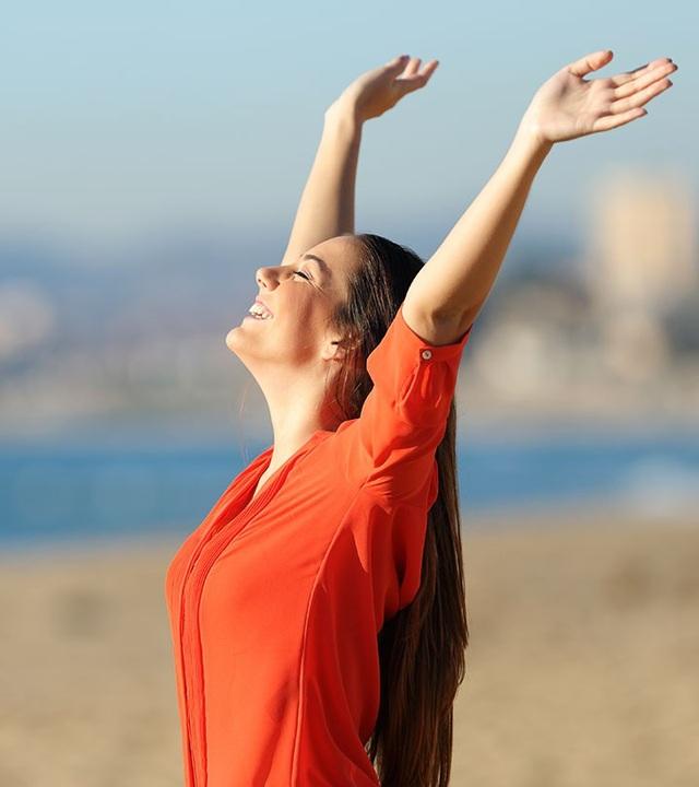 Các bài tập thở có thể giúp cải thiện dung tích phổi của một người.