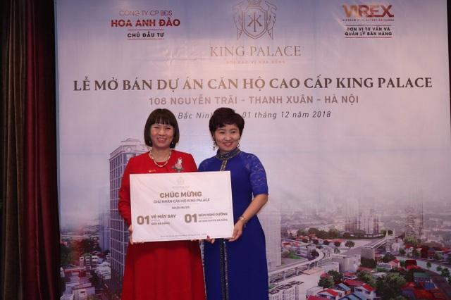 Khách hàng đặt cọc thành công căn hộ trong ngày mở bán tại Bắc Ninh