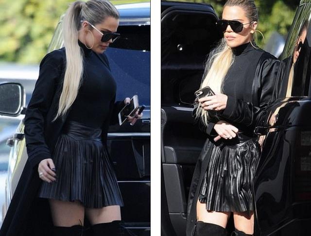Khloe Kardashian thon gọn sau 7 tháng sinh con