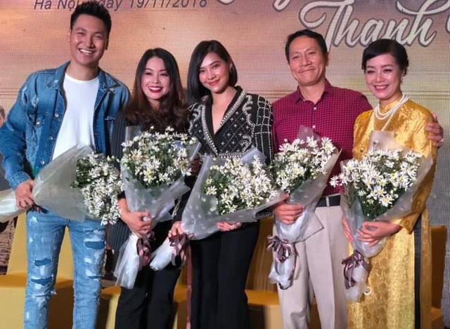 Diễn viên Thanh Tú đóng vai mẹ của Lưu Đê Ly trong phim Chạy trốn thanh xuân.