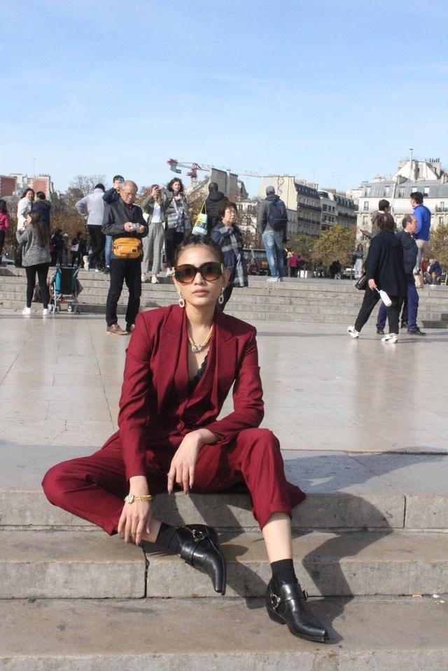 Cùng á hậu Trương Thị May khám phá thành phố lãng mạn nhất thế giới - 6