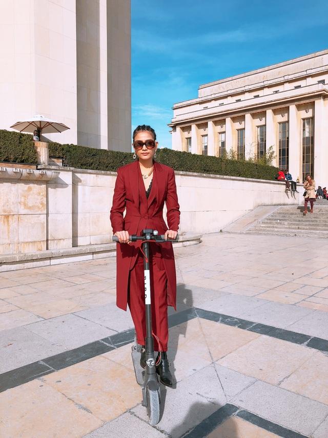 Vốn là người yêu thích vẻ đẹp và đề cao chủ nghĩa xê dịch, Trương Thị May không giấu sự phấn khích được đặt chân đến những vùng đất mới, khám phá vẻ đẹp lẫn tìm hiểu văn hóa ở các địa phương.