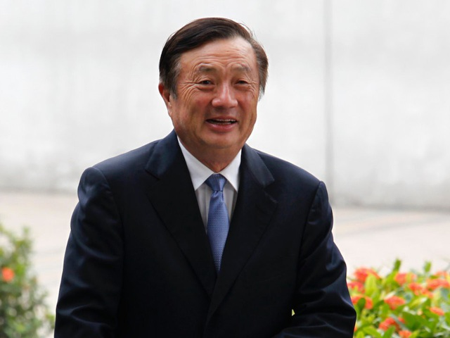 Ông trùm Ren Zhengfei, người đứng đầu tại Huawei.