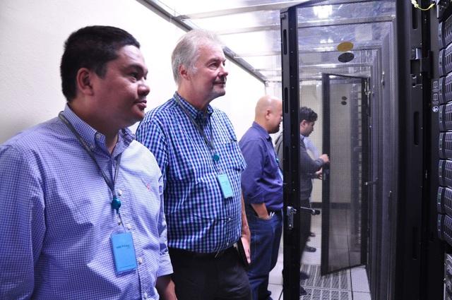 Công ty TÜV Rheinland trực tiếp đánh giá chất lượng dịch vụ tại TTDL Hòa Lạc của Viettel IDC