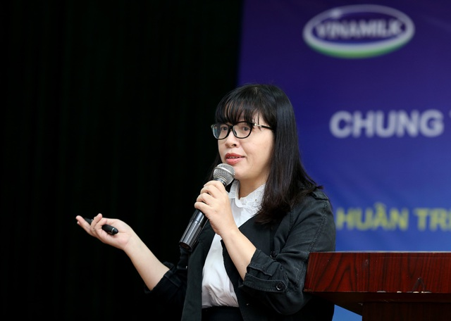TS Bùi Thị Nhung - Trưởng khoa Dinh dưỡng Trường học, Viện Dinh dưỡng Quốc gia