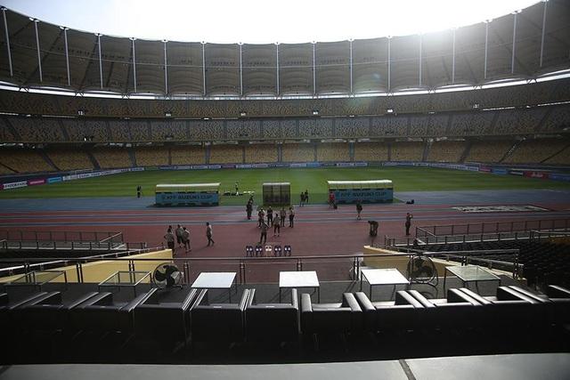 Trên sân đấu này cách đây 8 năm, đội tuyển Việt Nam đã thua Malaysia 0-2 ở bán kết lượt di AFF Cup 2010