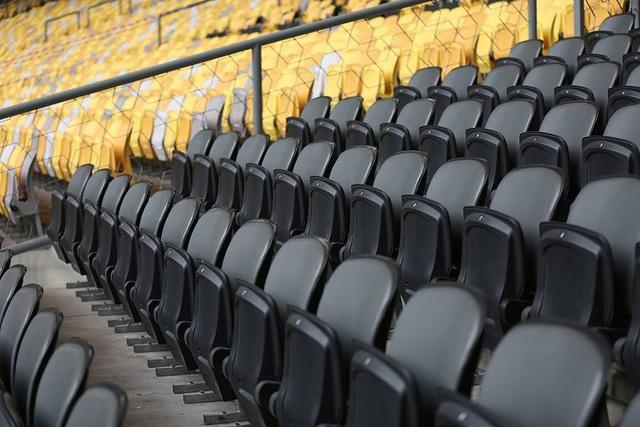 Khu vực ghế VIP ở sân Bukit Jalil cũng khá rộng