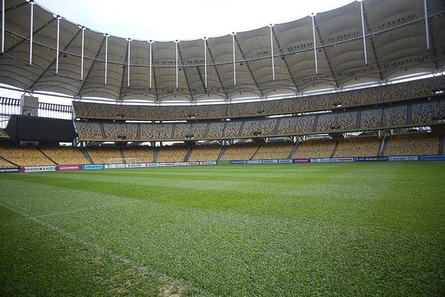 Sân Bukit Jalil khá rộng và có sức chứa hơn 80.000 chỗ ngồi