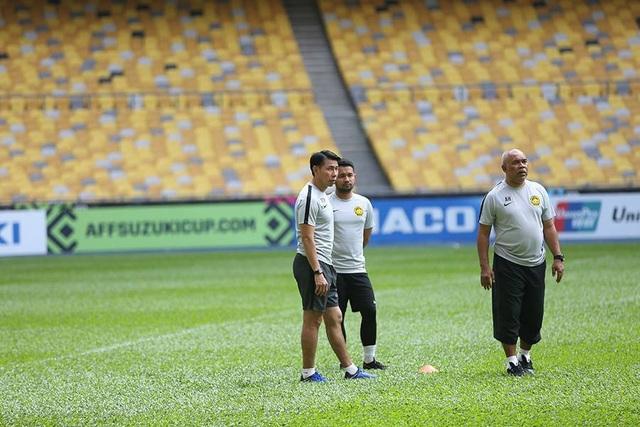 HLV Tan Cheng Hoe hài lòng với chất lượng mặt cỏ ở Bukit Jalil