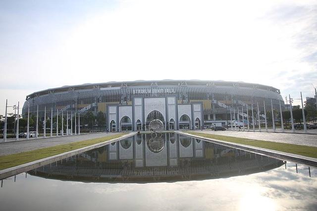 Quang cảnh cho thấy vẻ hoành tráng của khu tổ hợp thể thao Bukt Jalil