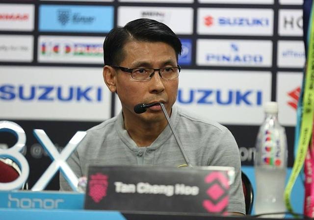 HLV Tan Cheng Hoe khẳng định Malaysia sẽ đá tấn công ở Bukit Jalil