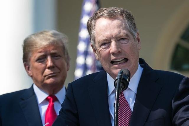 Đại diện Thương mại Mỹ Robert Lighthizer (Ảnh: Reuters)
