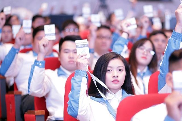 Thu Hằng mong muốn Đại hội lần này sẽ chọn ra được những người chủ chốt, có tâm huyết với Hội Sinh viên Việt Nam để có thể tuyên truyền và truyền tải được nhiều hơn tới các bạn sinh viên để các bạn biết tới Hội và có được những cơ hội trau dồi, học tập.