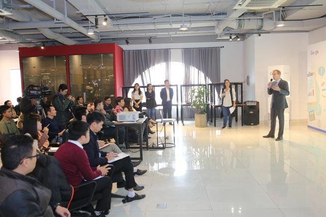 Một trong những lớp học miễn phí của Google mở ra cho hàng nghìn DN vừa, nhỏ và siêu nhỏ tại Việt Nam.