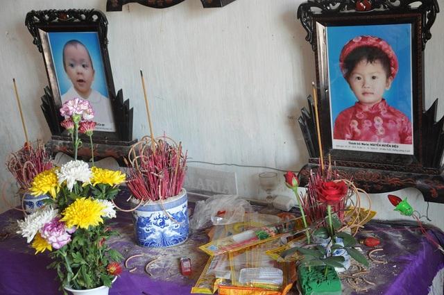 Hai bé Nguyễn Huyền Diệu (2014) và Nguyễn Huyền My (2016) liên tiếp qua đời cách nhau 1 tháng vì bệnh viêm não.