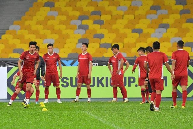 Đội tuyển Việt Nam sẵn sàng đối diện với sức ép tại Bukit Jalil ngày mai