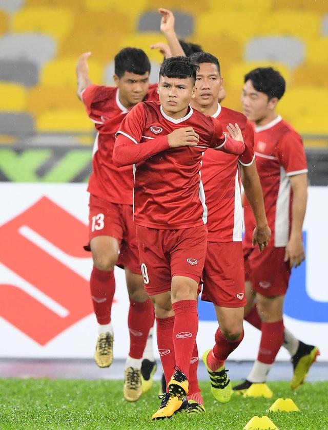 Quang Hải vẫn là cầu thủ được chú ý nhất của đội tuyển Việt Nam