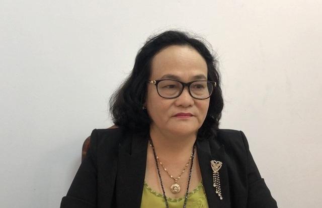 Bà Trương Thị Kim Cương - Phó trưởng phòng GD huyện Đức Hòa cho biết cô V. là người hiền lành.