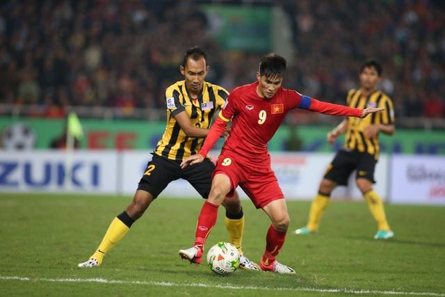 Thua trước Malaysia tại Mỹ Đình khiến Việt Nam tan mộng vô địch AFF Cup 2016