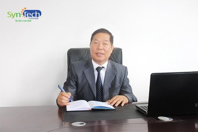 Dược sỹ Nguyễn Xuân Trang - Uỷ viên Ban chấp hành Hiệp hội Dược Việt Nam, Chủ tịch HĐQT Công ty CP Dược phẩm Syntech