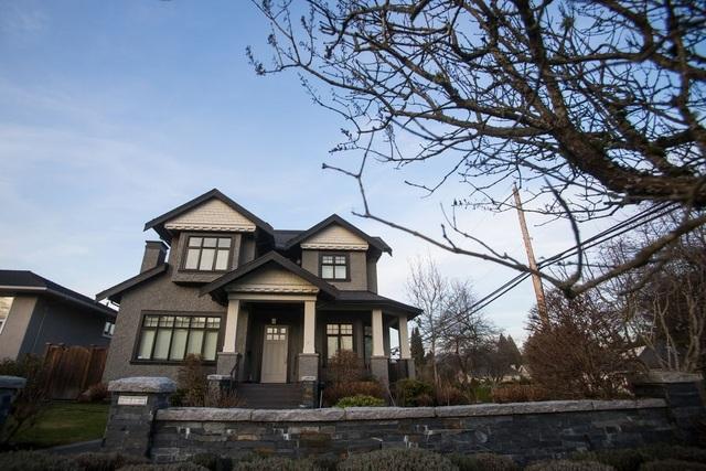 Căn nhà trị giá 4,2 triệu USD trên đường West 28th của bà Meng (Ảnh: Bloomberg)
