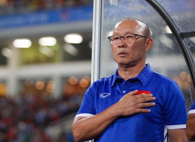 HLV Park Hang Seo mang tới những ngày hội cho bóng đá Việt Nam