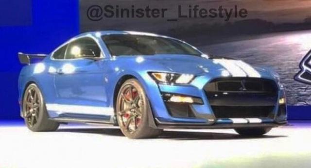 Hình ảnh được cho là mẫu Mustang GT500 mới