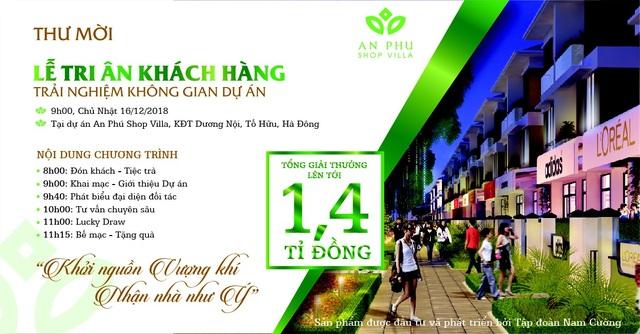 Tập đoàn Nam Cường tổ chức Lễ Tri ân khách hàng Dự án An Phú Shop-villa - 1