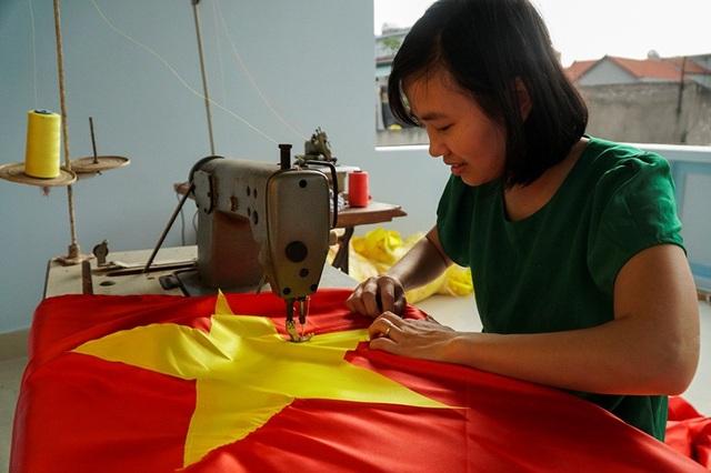 Hiện tại, trong làng Từ Vân còn khoảng 10 hộ giữ nghề.