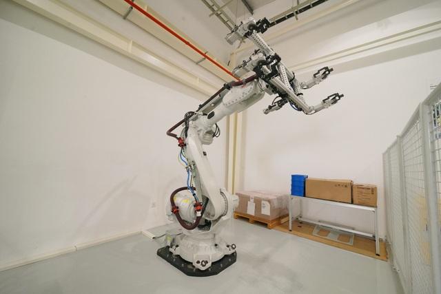 Robot của ABB sẽ được sử dụng trong dây chuyền sản xuất của nhà máy ôtô VinFast.