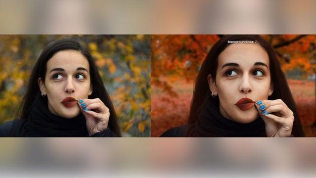 Hình ảnh gốc do Djudjic chụp (trái) và hình ảnh sau khi đã được Samsung chỉnh sửa rồi đưa lên trang web của mình