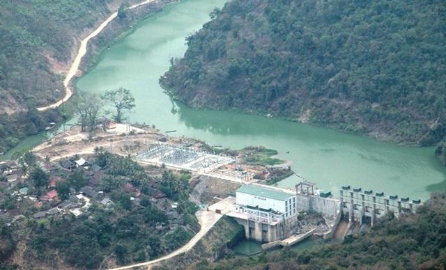 Nghệ An được coi là thủ phủ của thủy điện.