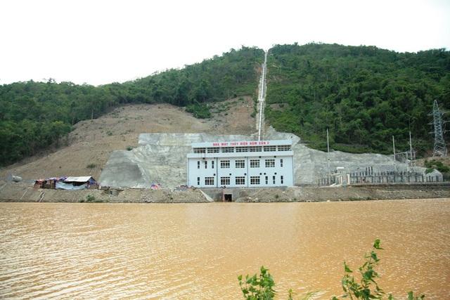 Dự án nhà máy thủy điện trên dòng Nậm Mộ, huyện biên giới Kỳ Sơn.