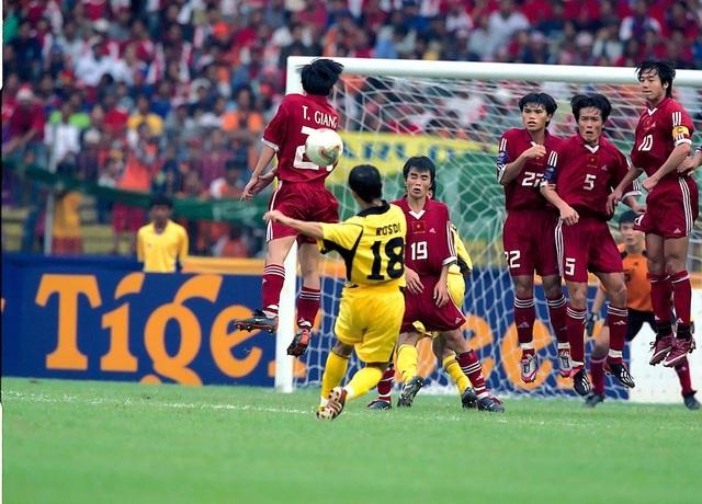 Việt Nam đã thắng Malaysia ở trận tranh hạng ba năm 2002