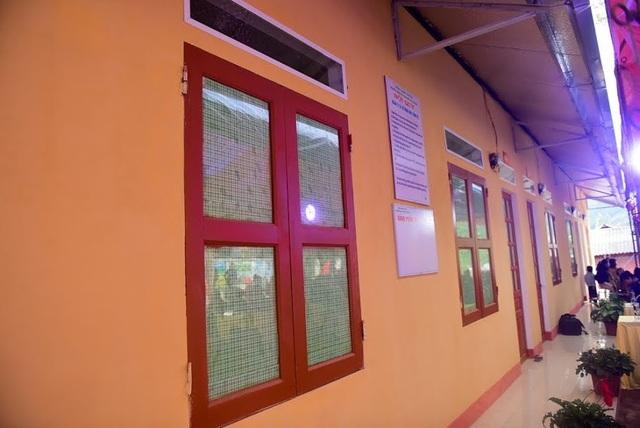 Công trình Nhà công vụ gồm 6 phòng mang tên Dân trí khang trang, sạch đẹp tại Trường mầm non Phong Dụ Thượng